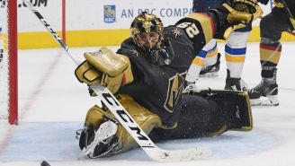 Marc-Andre Fleury Apparently Found Out Via Twitter That He Got Traded To The Blackhawks