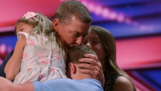 Widower Whose Wife Died In Kobe Bryant Helicopter Crash Delivers Tear-Jerking Performance On 'America's Got Talent'