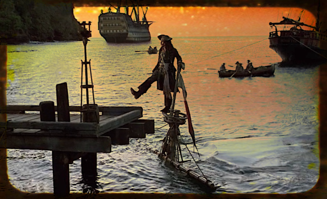 pirates lead
