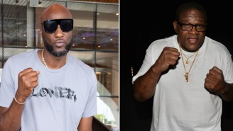 Lamar Odom To Face 53-Year-Old Former Boxing Champion Riddick Bowe In Celebrity Boxing Match