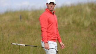 Fan Grabs A Club From Rory McIlroy's Bag At Scottish Open Creating Super Weird Scene
