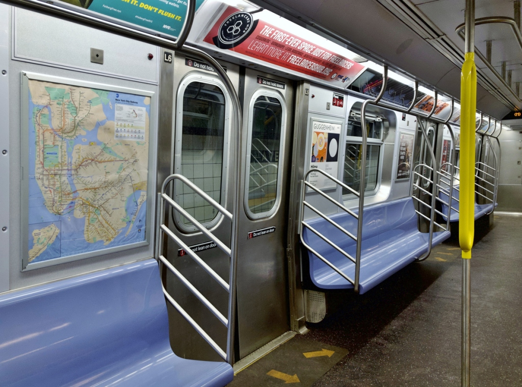 how much subway bacteria in NYC subways