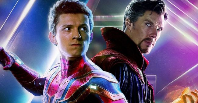 spiderman and doctor stange