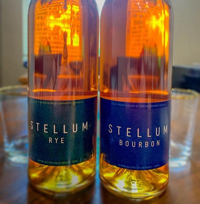Stellum Rye and Stellum Bourbon