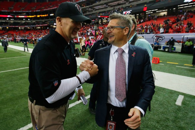 Former Atlanta Falcons GM Thomas Dimitroff is producing a cool show detailing the in's and out's of running an NFL team