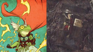 The MCU Has Introduced Perhaps Its Greatest Character Yet: Throg, The Frog Of Thunder