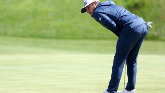 Tyrrell Hatton Appears To Flip Off A Fan At The Open, Snaps A Club A Few Holes Later