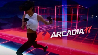 What Is Arcadia? – A New Virtual Reality Video Game Experience That's Like 'TRON' IRL