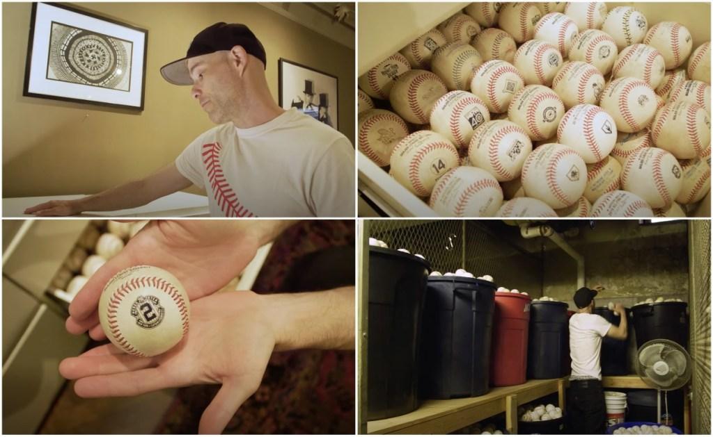 Zack Hample baseball collection over 11,000 baseballs
