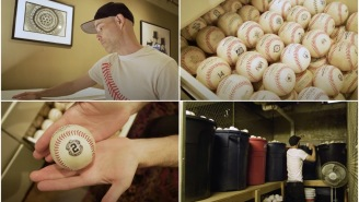 Guy Who Has Caught Over 11,000 Baseballs At MLB Games Shows Off His Insane Prized Collection Of Balls