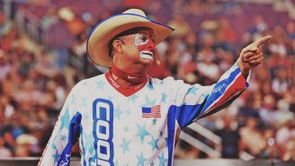 A Day In The Life Of Professional Bull Riding Entertainer Flint Rasmussen Is Unlike Any Other