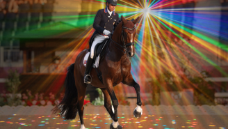 American 'Rave Horse' Dazzled The World With His Remarkable Dance Moves At The Olympics