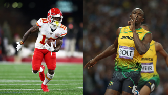 Usain Bolt Officially Challenged Tyreek Hill To A Race And The Stakes Are Very High