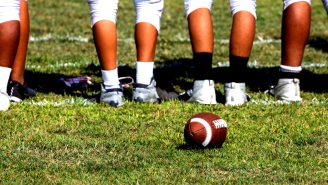 This 6-Foot-4, 300 Pound 13-Year-Old Football Player Already Has A D-I Offer