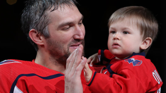 Alexander Ovechkin's Two-Year-Old Son Is Already The Future Of The NHL And Here's All The Evidence You Need