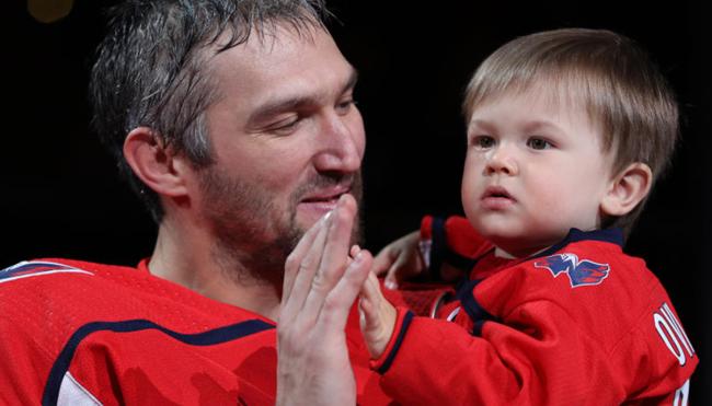Alexander Ovechkin son Sergei hockey highlights