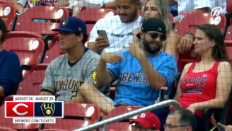 Brewers Announcers Hilariously Mock Fan Appearing To Try To Spit Game In The Stands
