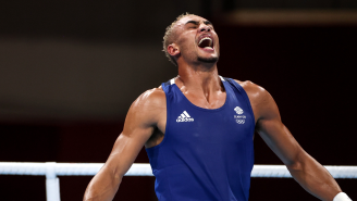 British Boxer Catches Heat For Refusing To Wear Silver Medal On Podium After Loss