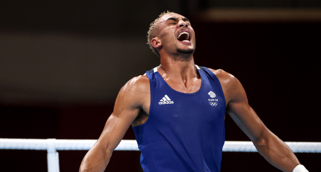 British Boxer Ben Whittaker Refuses To Wear Silver Medal On Podium