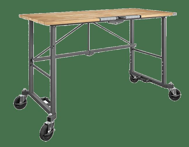 Cosco Smartfold Portable Hardwood Workbench Desk