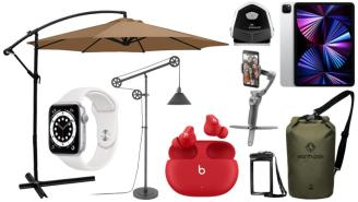 Daily Deals on Amazon: iPad Pros, Dry Bags, Patio Umbrellas And More!