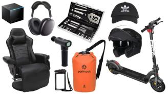 Daily Deals on Amazon: Motorcycle Helmets, Dry Bags, Grill Set And More!