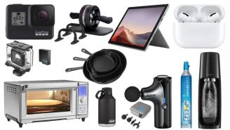 Daily Deals on Amazon: Massage Guns, AirPods Pros, GoPros And More!