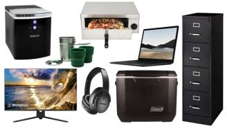 Daily Deals on Amazon: Mini Fridges, Dumbbells, Pizza Ovens And More!