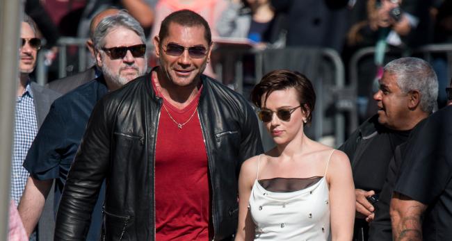 Dave Bautista Catching Heat For Joke About Scarlett Johanssons Black Widow Lawsuit