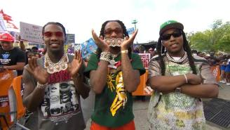 Migos Had Atlanta JUMPING During Their Performance With HBCU Bands On College Gameday