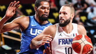 Evan Fournier Threw Some Major Shade At Kevin Durant's Hair While Hunting For A New Barber In New York City