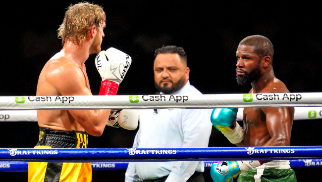 Floyd Mayweather Allowed Logan Paul To Go The Distance In Fight