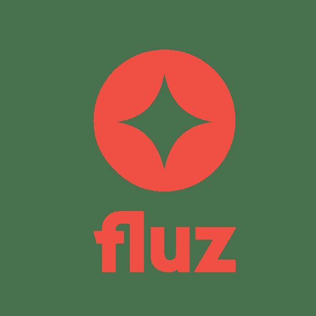 Fluz Logo Stacked cash back