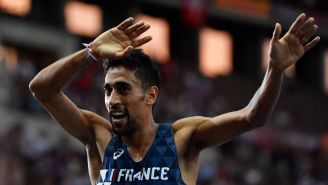 French Olympian Who Intentionally Knocked Over Water For Other Runners Responds, Claims Innocence
