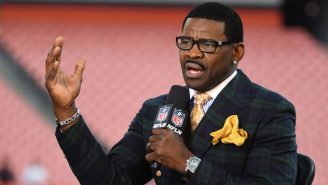 Michael Irvin Absolutely LOVED That The Giants Got Into A Full Team Brawl At Training Camp
