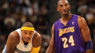 'It's War': Carmelo Anthony Recalls How Kobe Bryant's 'Disrespectful Sh*t' Made Them Friends