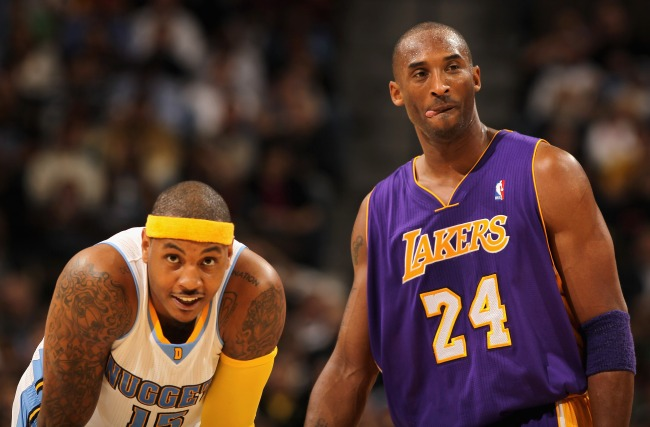 Carmelo Anthony revealed the disrespectful antics Kobe Bryant did and how they became friends.