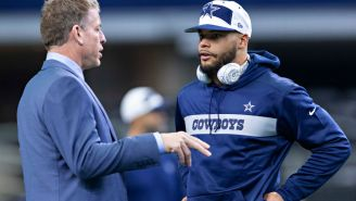 Troy Aikman Believes The Cowboys Are Lying About Dak Prescott's Shoulder Injury And It's 'More Significant Than They Have Led On'