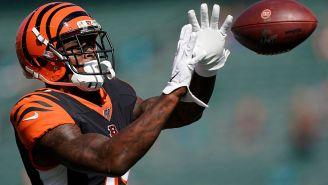 WATCH: Bengals WR Auden Tate Made The Craziest Catch Of The Preseason