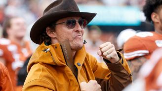 Matthew McConaughey Released A Hype Video For Texas Football And The Longhorns Might Be Back