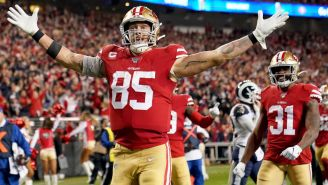 George Kittle On What He Learned From Travis Kelce And Other TE's At Tight End University, The Niners QB Situation, And His 'Home Base' In Nashville
