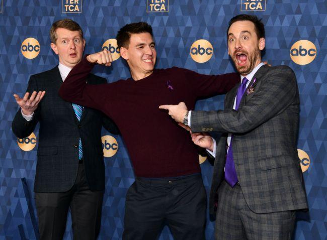 Jeopardy! Ken Jennings, James Holzhauer, and Brad Rutter