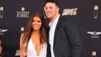 Josh Allen's Girlfriend Was Extremely Hyped After He Signed Massive $258 Million Contract Extension