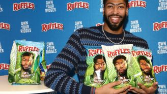 Pelicans Fans In New Orleans Refuse To Buy Ruffles Chips With Anthony Davis On The Cover Before Hurricane Ida's Arrival