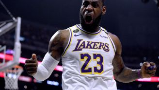 An Angry LeBron James Reacts To Not Getting Any Votes For Best Player In The League From Anonymous NBA Execs