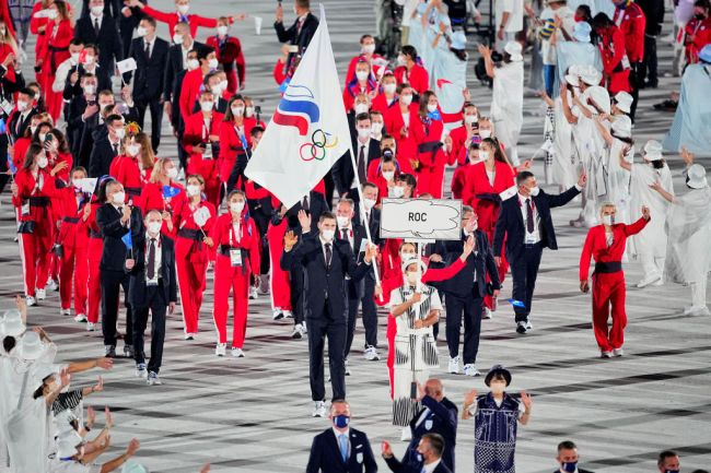Russia Olympic Committee ROC Tokyo 2020 Cheating Rigged