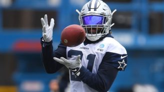 Don't Expect Ezekiel Elliott To Return Punts Anytime Soon Because He's Hilariously Bad At It