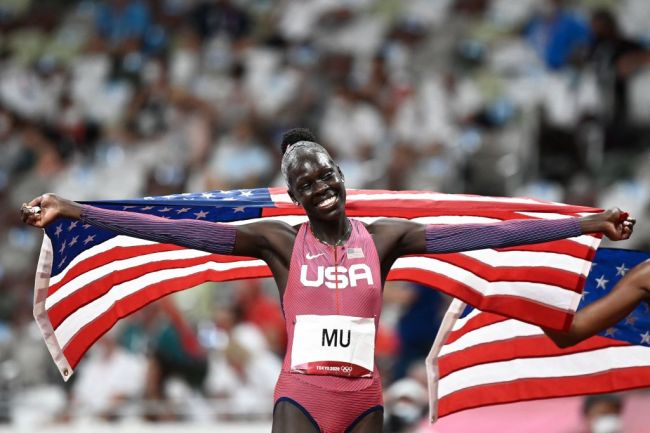 USA Athing Mu Gold Medal Tokyo 2020 Olympics 800 meter