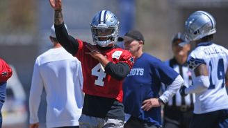 Dallas Cowboys Fans Freak Out After Team Tells Them Not To Worry About Dak Prescott's Shoulder Injury Despite Second MRI Exam