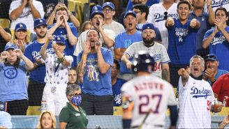 Astros And Dodgers Fans Were Brawling All Over The Stands During Houston's Return To Los Angeles